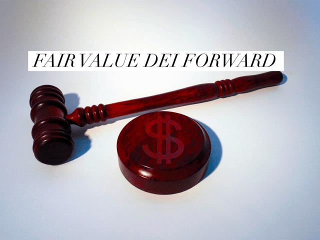Fair value derivati valute forward